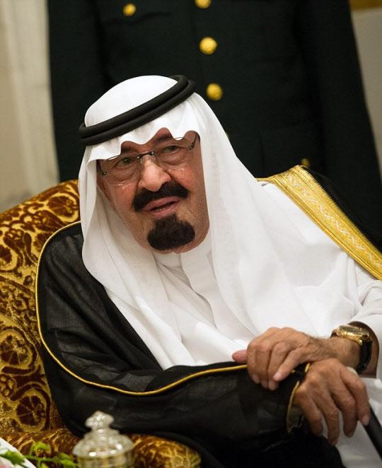 2015년 타계(他界)한 전 사우디아라비아 국왕 압둘라 / AFP