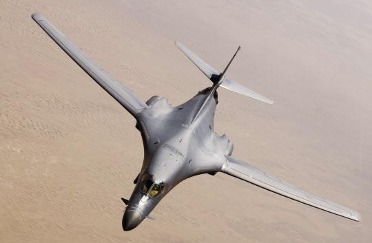 B-1B 전략 폭격기./미 공군 홈페이지 제공