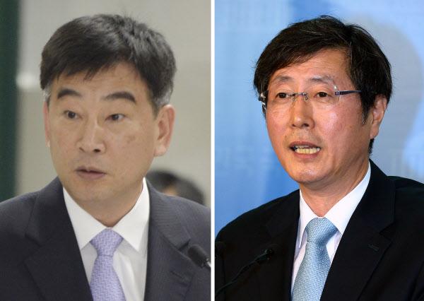 박근혜 대통령은 30일 오후 신임 민정수석에 최재경 전 인천지검장을,  신임 홍보수석에는 배성례 전 국회 대변인을 각각 내정했다./뉴시스