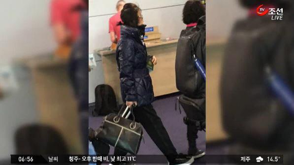 '최순실 게이트' 파문으로 국민의 분노가 들끓고 있는 가운데, 박근혜 대통령이 최순득씨 자녀의 결혼식까지 참석했다는 목격담이 나왔다./TV조선 뉴스화면 캡처