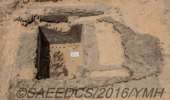 이집트에서 약 7500년 전 지어진 고대도시가 발견됐다. / 출처: 이집트 고대유물부