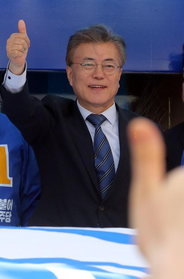 문재인 더불어민주당 대선 후보. /연합뉴스