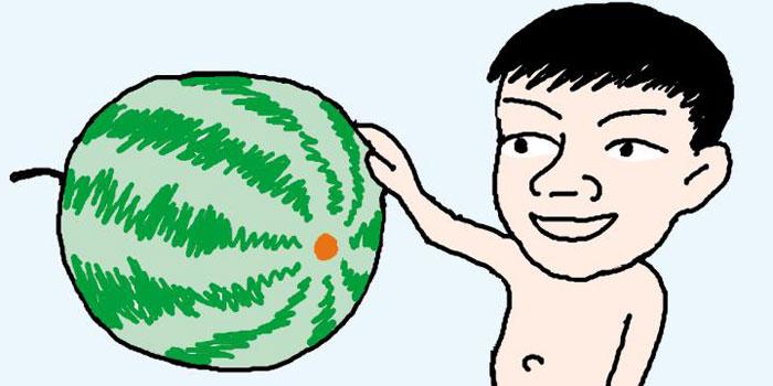 [리빙포인트] '배꼽' 작은 수박 고르세요