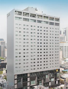 서울 명동의 솔라리아 니시테츠 호텔. /photo=조현호 영상미디어 객원기자