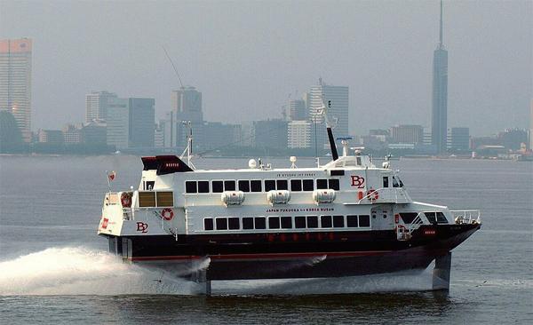 JR규슈가 운항하는 한·일 간 국제쾌속여객선 비틀호.