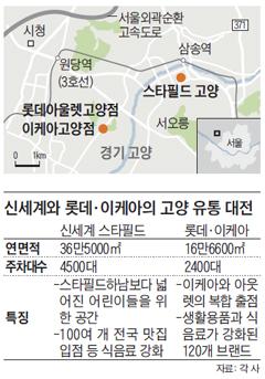 신세계와 롯데, 이케아의 고양 유통 대전 정리 표