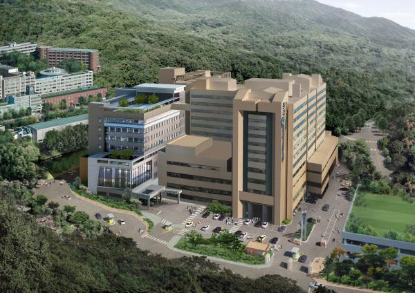 부산 서구 서대신동 동아대병원 전경. 이 병원은 최근 부산 유일의 '보건복지부 권역응급의료센터'로 지정됐다.