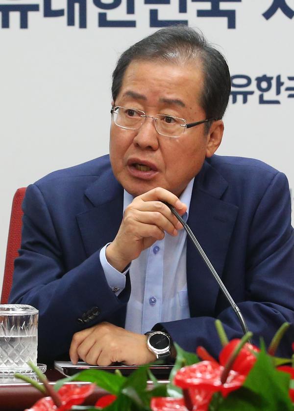 홍준표 자유한국당 대표. /조선일보DB