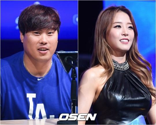 """공식입장 종합 류현진♥배지현, 2년 열애 인정..""""시즌 끝난 후 ..."""