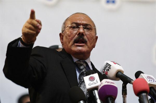 알리 압둘라 살레 전 예멘 대통령. /AP연합