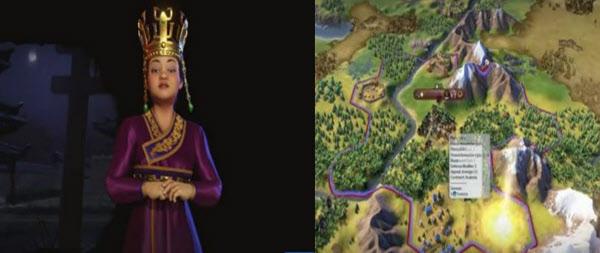 세종대왕을 등장시켜 화제를 모았던 게임 '문명'이 새로운 지도자로 '선덕여왕'을 소개해 화제를 모으고 있다. /유튜브 캡처