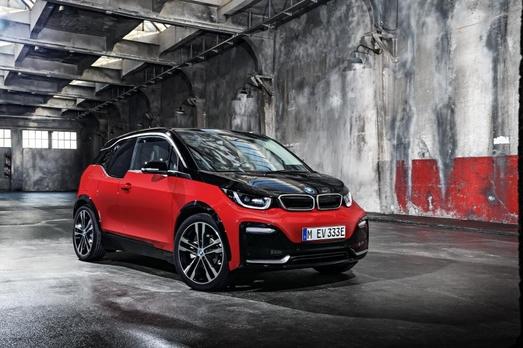 올해 1분기 출시되는 BMW의 전기차 i3s의 부분변경 모델/BMW 제공