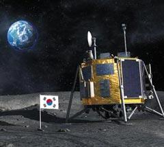 한국형 달 탐사 사업 상상도.