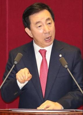 김성태 자유한국당 원내대표 /조선DB