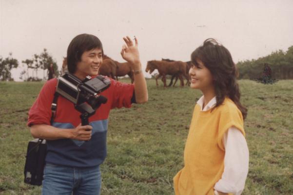 스물 여섯에 여배우 강문영과 함께 출연했던 영화 '스물 하나의 비망록(1983년)'. 인터넷 상에서 '송승환의 리즈시절'로 한동안 회자됐다