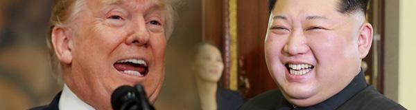 도널드 트럼프 미국 대통령과 김정은 북한 노동당 위원장. /조선일보 DB