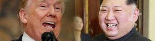 도널드 트럼프 미국 대통령(왼쪽)과 김정은 북한 노동당 위원장./조선DB