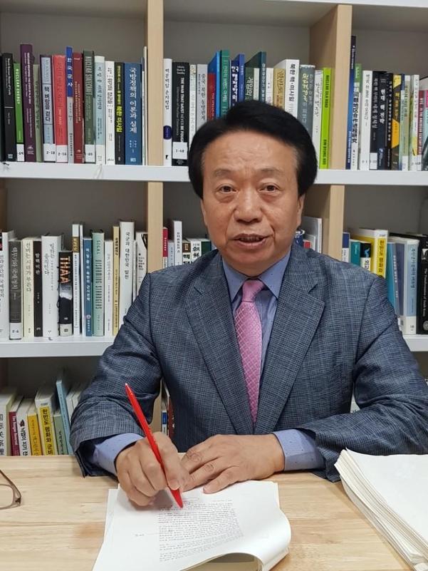 한용섭 국방대 교수./양승식 기자