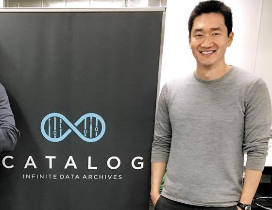 미국 카탈로그 테크놀로지의 공동 창업자인 박현준 대표.