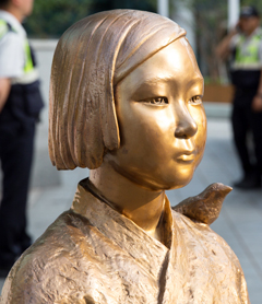 위안부 소녀상 사진