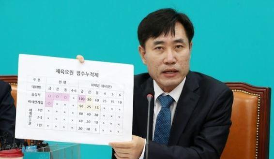 바른미래당 하태경 의원이 3일 오전 서울 여의도 국회에서 열린 제1차 최고위원회의에 참석해 모두발언을 하고 있다. /뉴시스