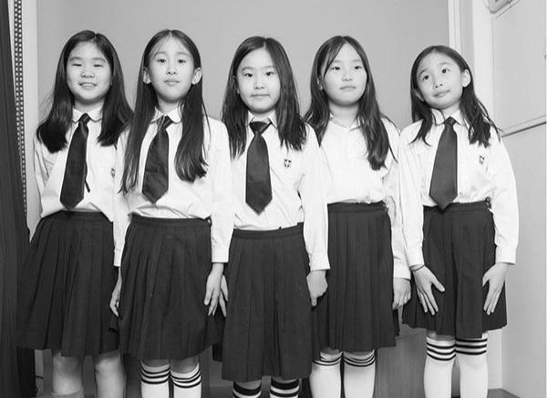 숭의초등학교 학생들의 우정사진, 아이들도 쉽게 셀프 사진을 찍을 수 있다./포토매틱