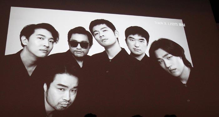 해체 전 마지막 앨범'모노'를 발매한 장기하와 얼굴들.