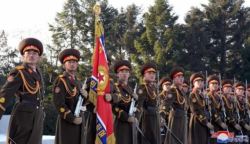 북한 인민군. /조선DB