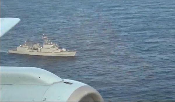 지난달 20일 동해 중간수역에서 광개토대왕함에 접근한 일본 초계기/조선DB
