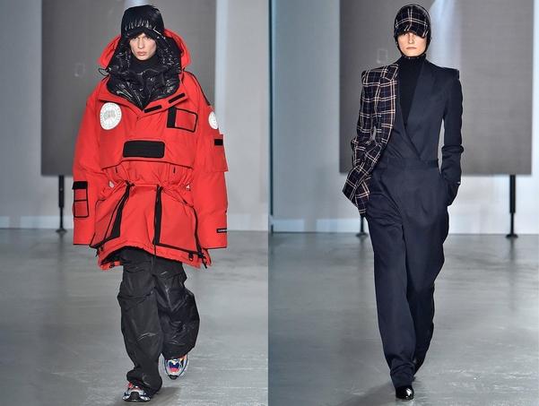 정욱준 디자이너의 브랜드 준지(JUUN.J)가 18일(현지시간) 프랑스 파리에서 2019년 가을/겨울 패션쇼를 선보였다./삼성물산 패션부문 제공