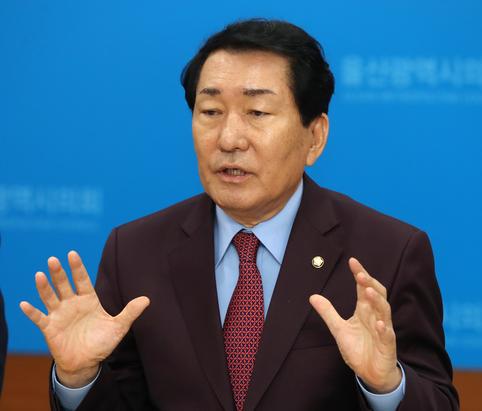 자유한국당 안상수 의원/연합뉴스