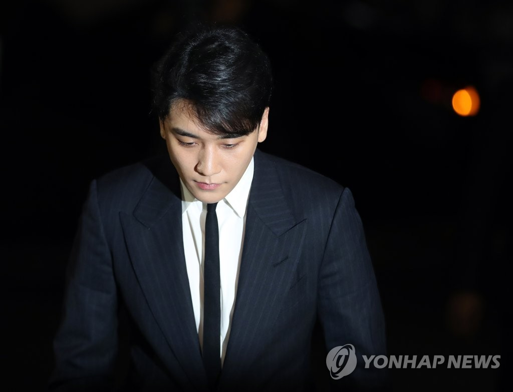 조사받으러 가는 승리 /연합뉴스