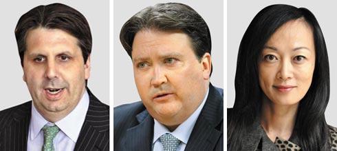 (왼쪽부터)마크 리퍼트 前 美대사, 마크 내퍼 前 美대사 대리, 수미 테리 CSIS 선임연구원