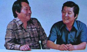 전유성의 스승이었던 코미디언 후라이보이 곽규석. 구봉서와 콤비로 인기를 끌었다.