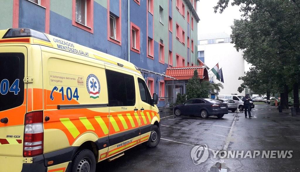 부다페스트 유람선 참사 생존자들 휴식 중인 호텔