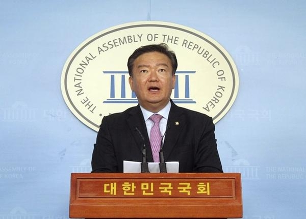 자유한국당 민경욱 대변인 /연합뉴스