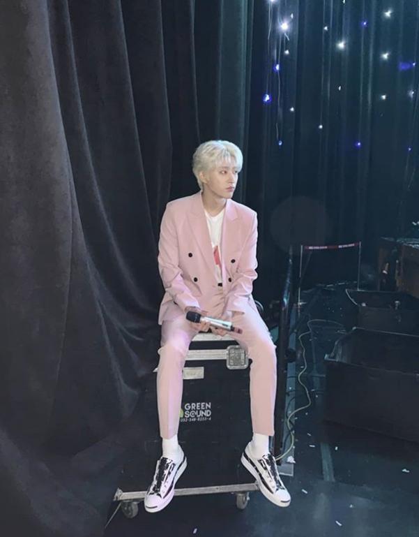 김한빈 인스타그램
