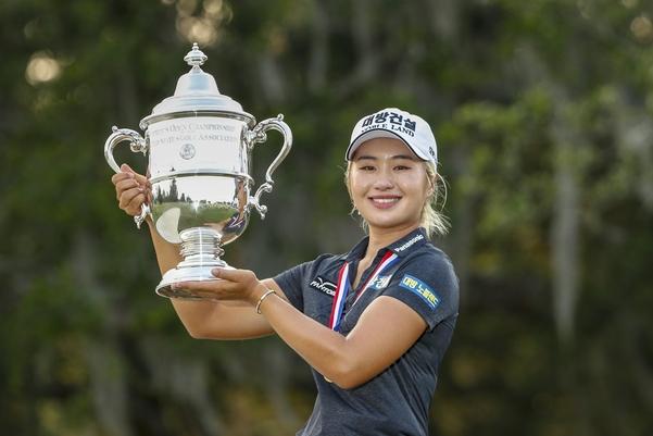 US여자오픈 우승으로 자신감을 얻은 이정은도 메이저 2승에 도전한다./USGA