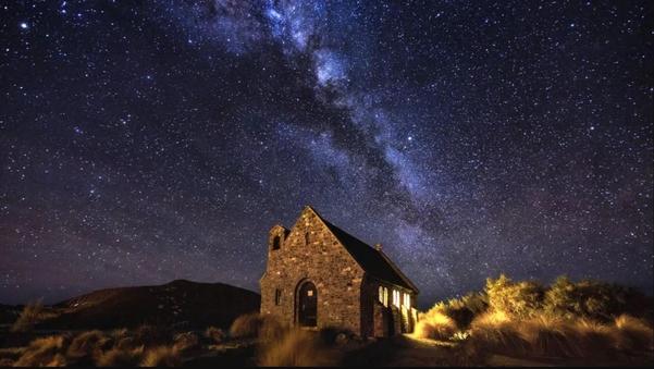 뉴질랜드의 별 여행지인 선한 목자의 교회. /뉴질랜드 관광청 제공
