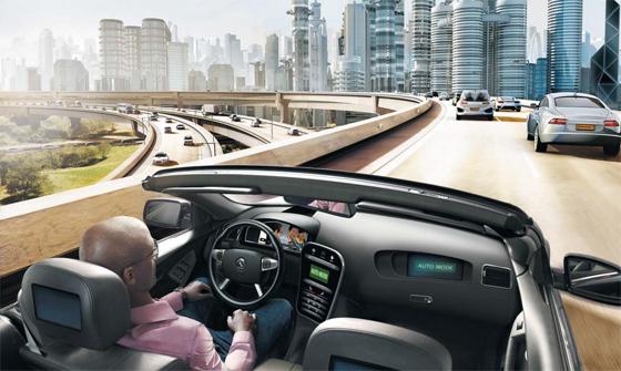 독일의 글로벌 자동차 부품회사 콘티넨탈은 센서와 라이더(전자거리 측정장치) 등 자율주행차 핵심 부품에서부터 관련 소프트웨어 개발까지 기술 기업으로 변신을 모색하고 있다. 사진은 콘티넨탈이 그리는 미래 도심 속 자율주행차의 모습.