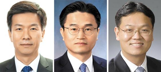 (왼쪽부터) 김대지 국세청 차장, 김명준 서울국세청장, 이동신 부산국세청장