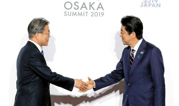 G20 도쿄 회의에서 만난 두 정상.