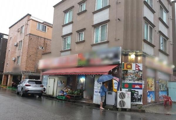 지난 10일 전남 영암군의 삼호읍에 비가 내리고 있다. 베트남 아내 폭행 사건이 발생한 이곳은 외국인 거주율이 90% 이상이다. /영암=최효정 기자