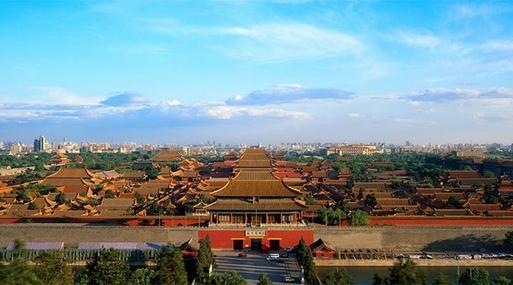 중국 명·청 왕조의 황제가 살던 황궁인 베이징 고궁박물원(자금성). /고궁박물원