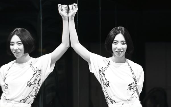 '집밥 백선생'처럼 춤을 쉽게 가르치는 '집춤 김선생'이 되고 싶다는 리아킴./사진=박상훈 기자