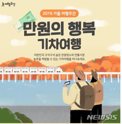 가을 여행주간 '만원의 행복'