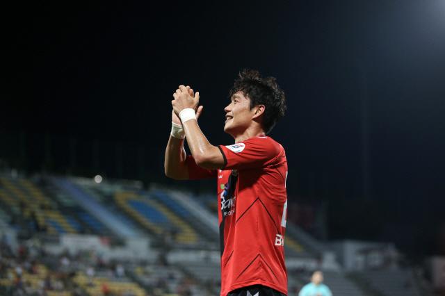 경남 김효기. 사진제공=한국프로축구연맹