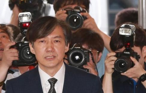 조국 법무부 장관 후보자./연합뉴스