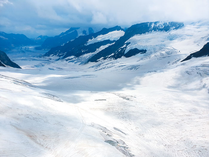 융프라우 빙하