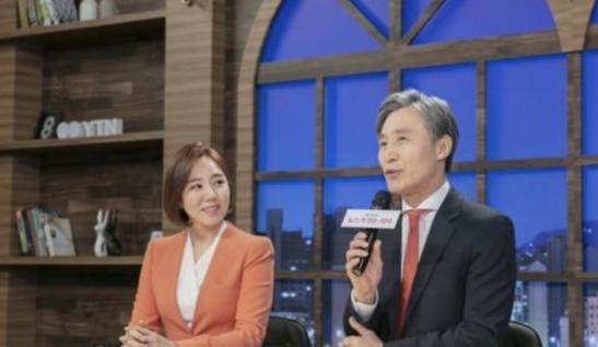 변상욱(오른쪽) YTN 앵커./YTN캡처